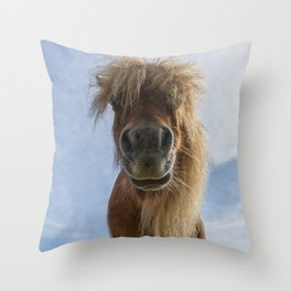 Ponymonster Throw Pillow