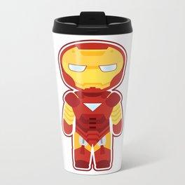 Chibi Iron Man Metal Travel Mug