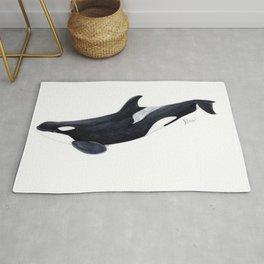 Orca killer whale Rug