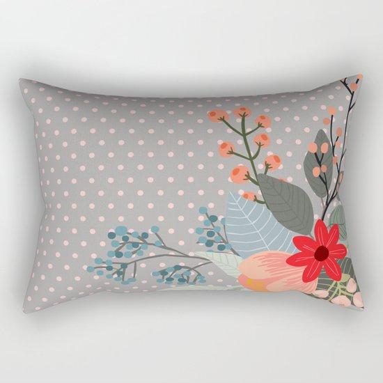 Flowers bouquet #8 Rectangular Pillow