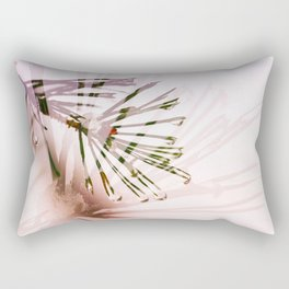 Frosty pink dream Rectangular Pillow