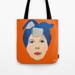 Ruth Gordon as Minnie from Rosemary's Baby Tote Bag