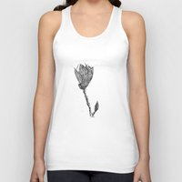 magnolia Tank Tops featuring Magnolia by Soldiers in Petticoats Press