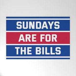 Sundays Are for the bills Welcome Mat