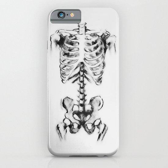bone in charcoal  iPhone & iPod Case