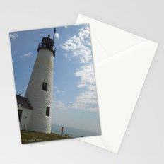 The Leaning Lighthouse Stationery Cards