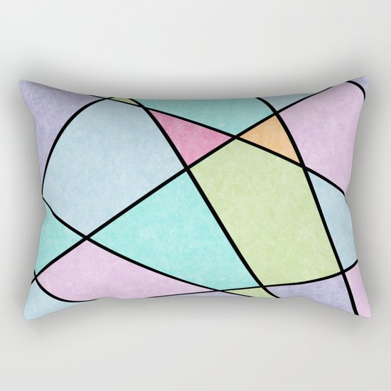 Frosted pastel Rectangular Pillow
