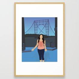 NINA – IN THE HEIGHTS Framed Art Print
