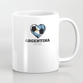 Argentina Soccer Shirt 2016 Coffee Mug