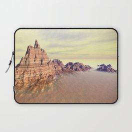 Sedimentary Mountain Range Laptop Sleeve