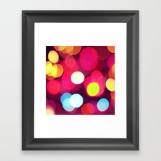 Pink Light Framed Art Print