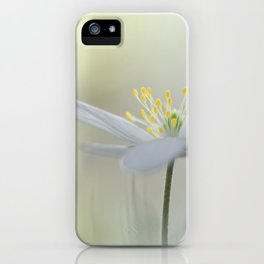 Irresistible Wood Anemone.... iPhone Case