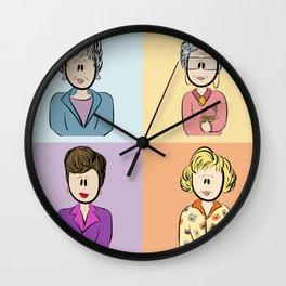 Golden Girls Character Combo Wall Clock