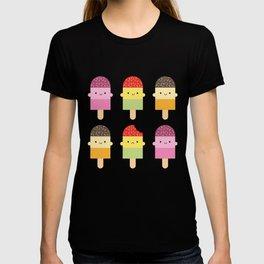 Kawaii Summer Ice Lollies / Popsicles T-shirt