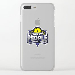 Funny Pickleball Gifts for Sport Enthusiasts Clear iPhone Case
