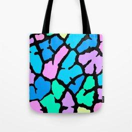 Pastel Giraffe Print Tote Bag