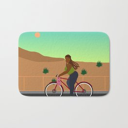 Bikes, Buses, Subways Bath Mat