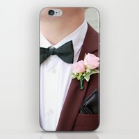 suit iPhone & iPod Skins featuring Suit by Naya Joyce