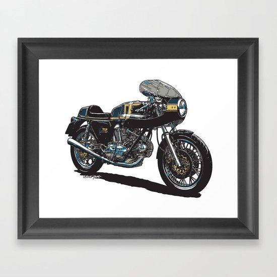 Duc 750ss Framed Art Print