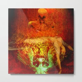Demonic sacrifice Metal Print