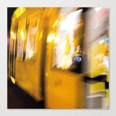 M Tram in Berlin Canvas Print