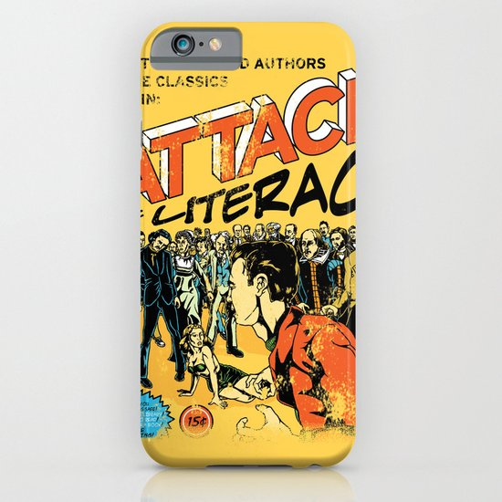 Attack of Literacy iPhone & iPod Case
