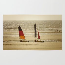 char à voile Nord Rug