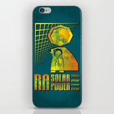 Ra Solar Power iPhone & iPod Skin
