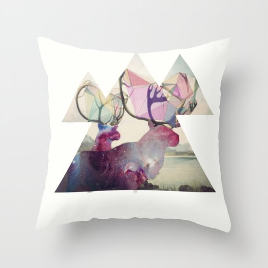 The spirit VI Throw Pillow