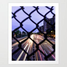 FDR Drive Art Print