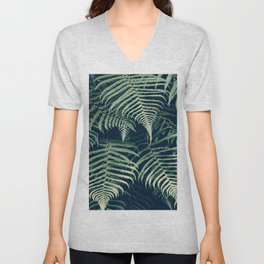Fern Beach Unisex V-Neck