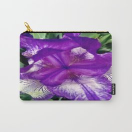 Purple in Bloom Carry-All Pouch