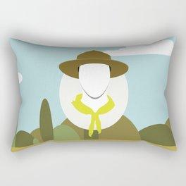Moonrise Kingdom - Randy Ward (Edward Norton) Rectangular Pillow