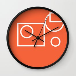 Geometric shape pattern nr 3197076 Wall Clock