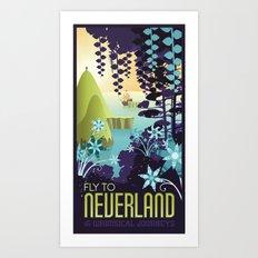 Neverland Art Print