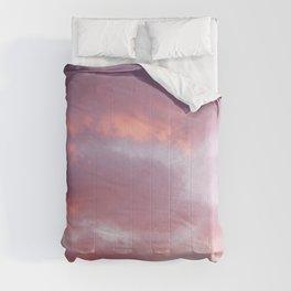 Unicorn Sunset Peach Skyscape Photography Comforters