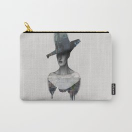 New york in man Carry-All Pouch
