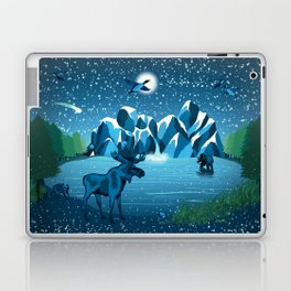 Fireflies Like Stars Laptop & iPad Skin