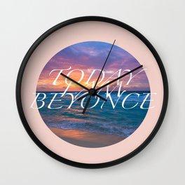 Inspirational Poster Wall Clock