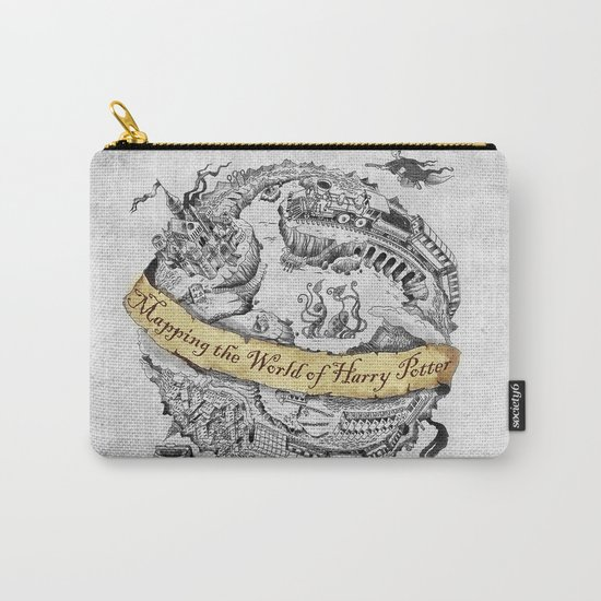 Harry's Map Carry-All Pouch