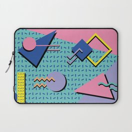 Memphis Pattern 14 - 80s Retro Laptop Sleeve