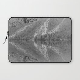 Silver Landscape At Lake Bohinj Laptop Sleeve