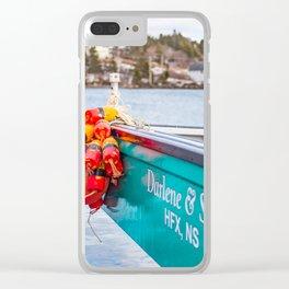 Darlene & Sons Clear iPhone Case