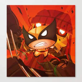 Destroy that sentinel! Canvas Print