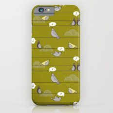 birds on a wire iPhone 6s Slim Case
