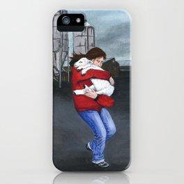 Monkey Wrenching 1 iPhone Case
