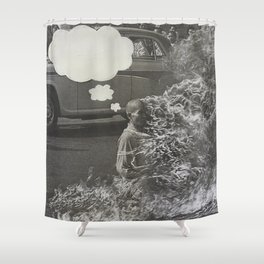 What Were You Thinking? 8 Shower Curtain