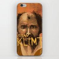 gustav klimt iPhone & iPod Skins featuring 50 Artists: Gustav Klimt by Chad Beroth
