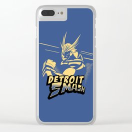 All Might Detroit Smash Clear iPhone Case