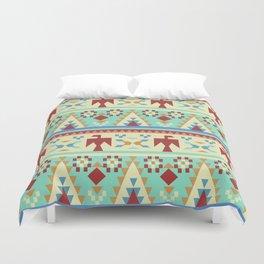 American Native Pattern No. 206 Duvet Cover